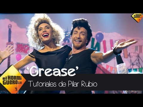 Pilar Rubio y Pablo Motos interpretan el musical Grease - El Hormiguero 3.0