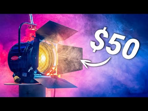 This CHEAP HOLLYWOOD LIGHT Is Actually AMAZING