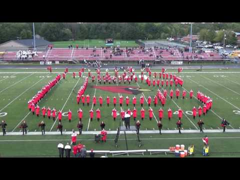 Canfield High School Cardinal Pride Marching Band Pregame Homecoming Game Performance 9.30.16