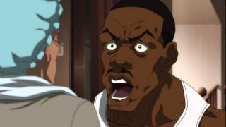 The Boondocks - Bathroom Motherfucker Nigga Moment