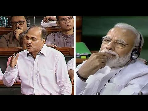 Congress' Adhir Ranjan Chowdhury insults PM Modi, compares him to 'gandi naali'