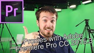 2015.3 veya daha Sonra Adobe Premiere Pro CC Vekiller Oluşturma.