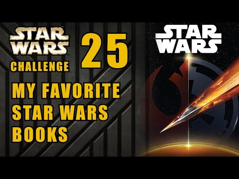 My Favorite Star Wars Expanded Universe Books - Star Wars 30 Day Challenge Day 25