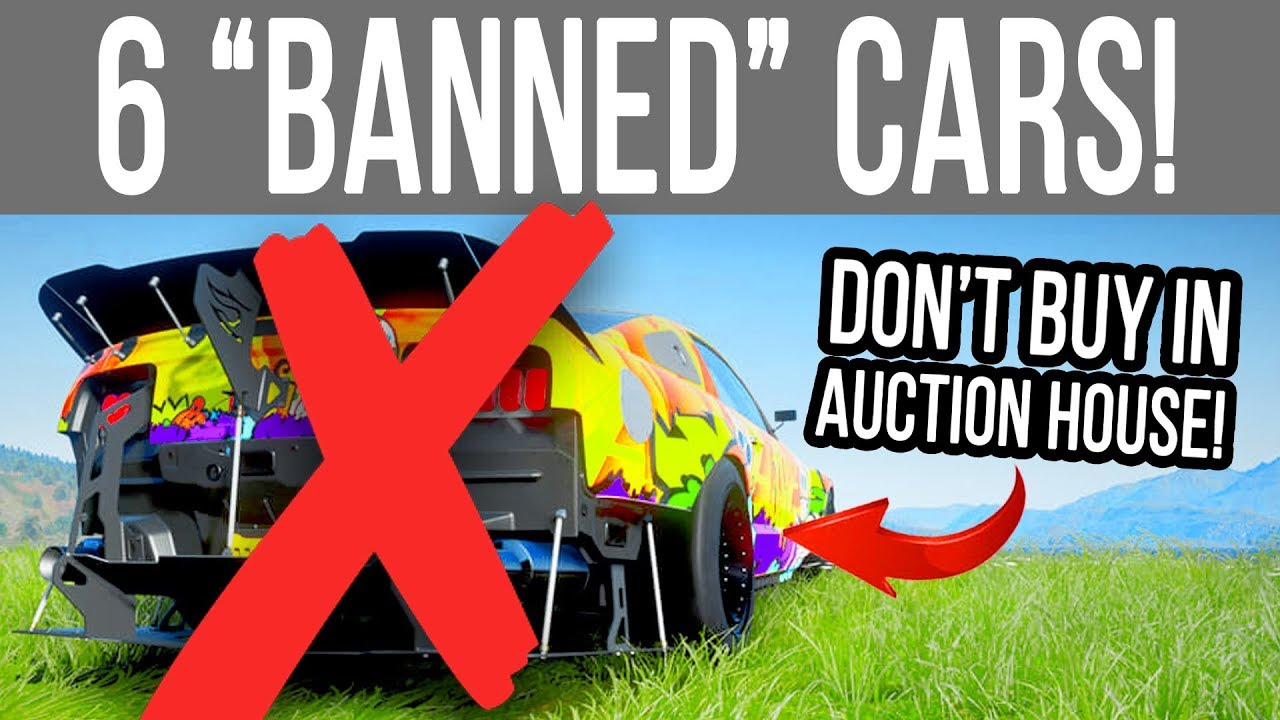 Download Forza Horizon 4 - 6 Cars that will get you BANNED!