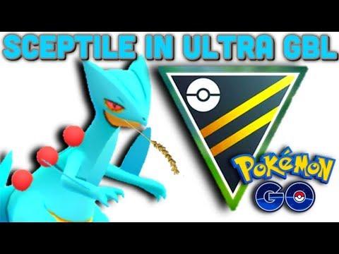 Shiny Sceptile Is A Smooth Operator In Ultra GO Battle League Pokemon GO