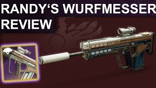 Destiny 2 Shadowkeep: Randy's Wurfmesser Review / Waffentest (Deutsch/German)