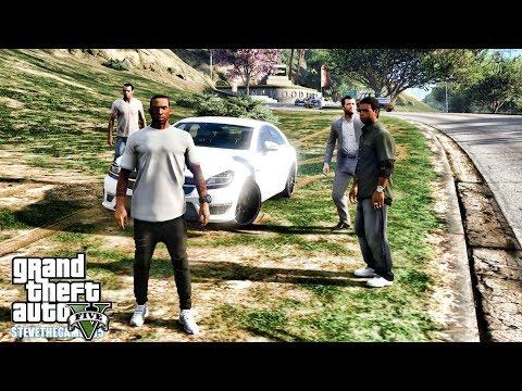 GTA 5 REAL LIFE CJ MOD #137 - THE SNIPERS!!!(GTA 5 REAL LIFE MODS) thumbnail