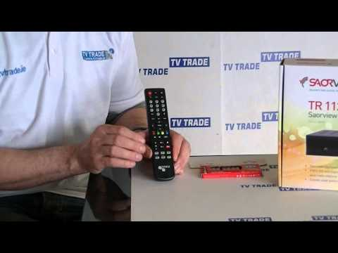 Triax TR112 Saorview Box Remote Control