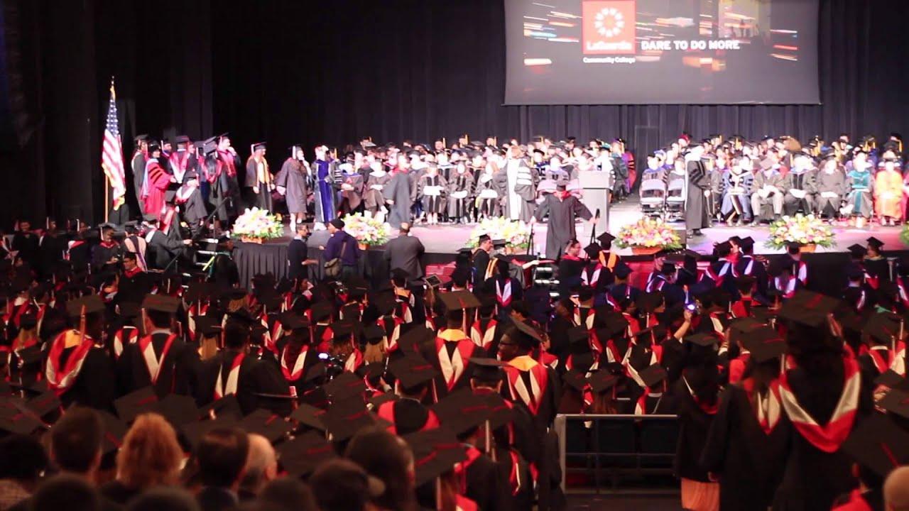 graduation 2015  laguardia community college