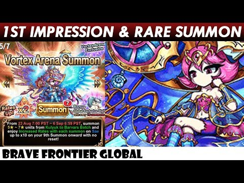 Great Omniscience Sae - 1st Impression & Early Bird Rare Summon (Brave Frontier Global)