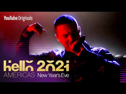 J Balvin New Year's Eve Performance | Hello 2021: Americas