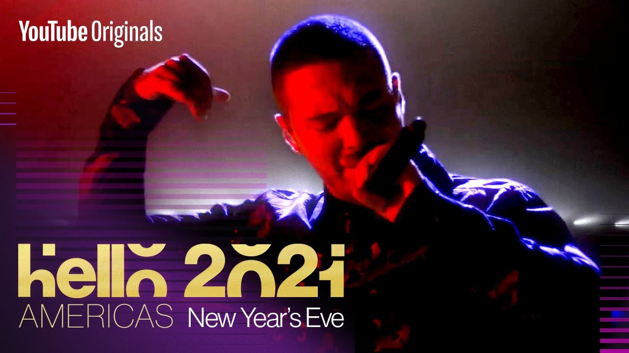J Balvin New Year's Eve Performance | Hello 2021: Americas