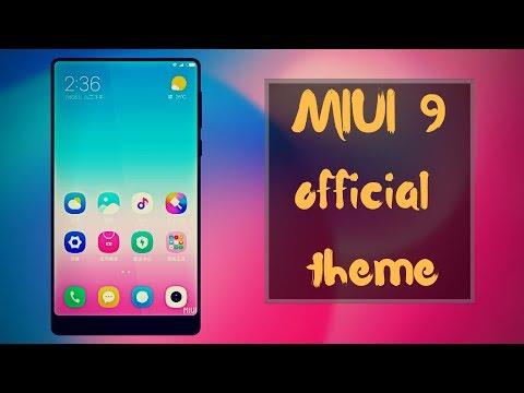 MIUI 9 Official Theme   Color Fantasy