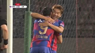 敵陣でのボール奪取から相手GKを引き付けた味方選手のラストパスを永井 ...