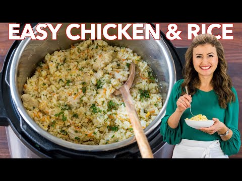 Instant Pot Chicken and Rice | One Pot – 30 min Dinner