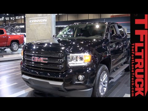 2015 GMC Canyon Nightfall Edition: What You Need To Know - YouTube