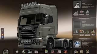 euro truck simulator 2 Scania dirft