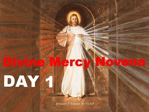 Divine Mercy Novena - Day 1