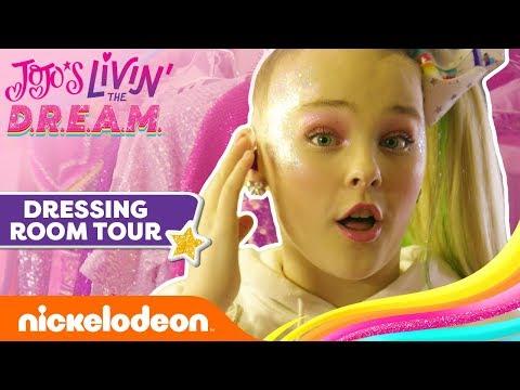 Tour JoJo Siwa's Dressing Room 🎀 JoJo's Livin' The D.R.E.A.M.   Ep. 2   Nick