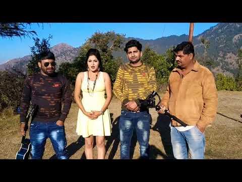 Kavita joshi || pratap kumar ||song making||ladli film ||new song 2018