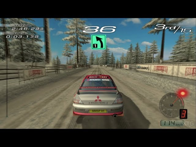 Sega Rally 2006 PS2 Gameplay HD (PCSX2)