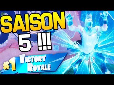 PREMIER TOP 1 DE LA SAISON 5 ! | Fortnite Battle Royale
