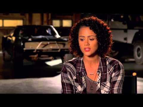 "Furious 7: Nathalie Emmanuel ""Ramsey"" Behind the Scenes Movie Interview"