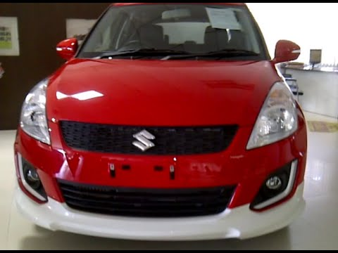 Maruti Swift Rs Limited Edition 2015 Red Colour Review Youtube