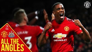 all the angles anthony martial v newcastle united premier league