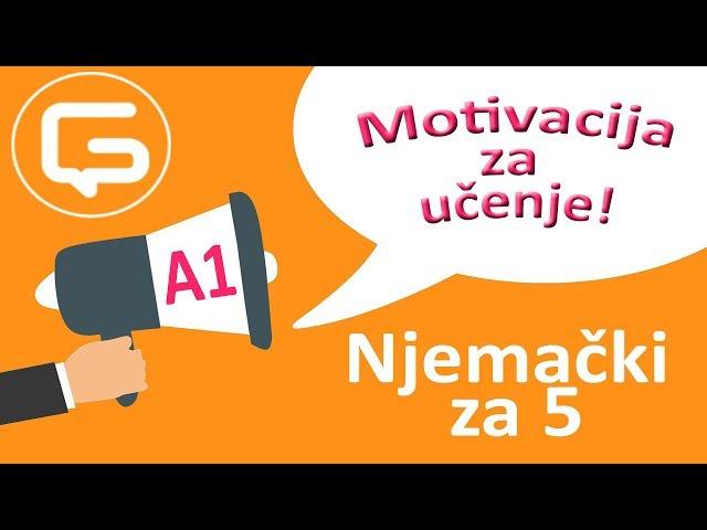 Njemački za 5: Motivacija za učenje (epizoda 10)