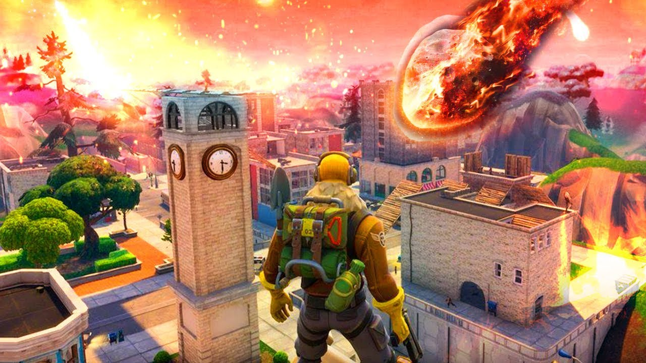 Meteorito: El DÍA En El QUE FORTNITE: Battle Royale SERÁ DESTRUIDO