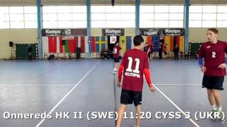 U15 boys. Group M02 gr 2. Lajkonik cup 2017. Onnereds HK II (SWE) - CYSS 3 (UKR) - 14:24 (2nd half)