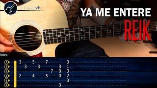 Video Como tocar Ya Me Entere de REIK en Guitarra Acustica | Tutorial COMPLETO download MP3, 3GP, MP4, WEBM, AVI, FLV November 2017