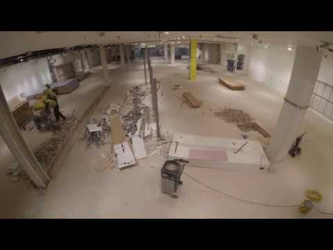 Commercial soft strip out Time Lapse Video
