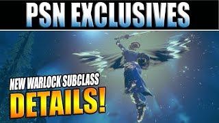 Destiny 2 News | New Playstation Exclusive Exotics & Healer Warlock Solar-Subclass Tree Details!