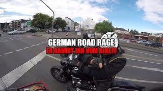 German Road Rage |#5| ER RAMMT IHN VOM BIKE!!! | [HD+60fps]