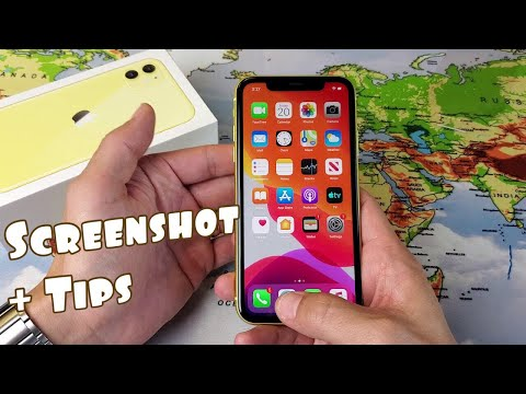 IPhone 11 / 11 Pro Max: How To Take Screenshot + Tips (Screenshot Entire Webpage)