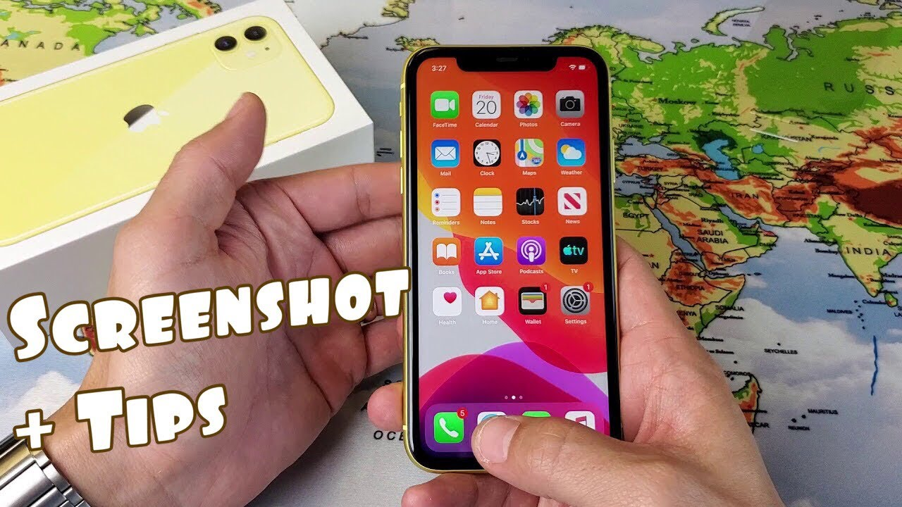 iPhone 8 / 8 Pro Max: How to Take Screenshot + Tips (Screenshot Entire  Webpage)