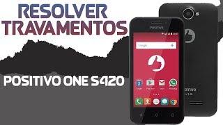 COMO RESOLVER TRAVAMENTOS NO POSITIVO ONE S420