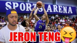 CAN HE BECOME THE BEST ROOKIE IN THE LEAGUE JERON TENG PBA REACTION