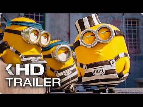 DESPICABLE ME 3 Minions In Prison Clip & Trailer (2017)