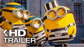 "DESPICABLE ME 3 ""Minions In Prison"" Clip & Trailer (2017)"