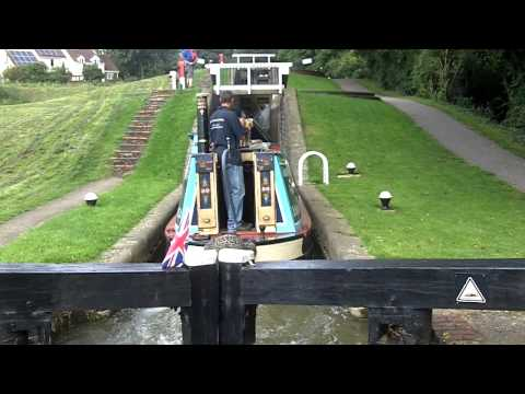 Grand Union Canal - Watford Lock Flight