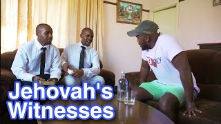 A visit from Jehovah's Witnesses (LEON GUMEDE)
