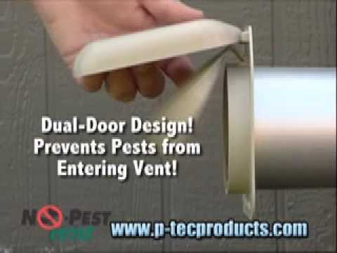 Dryer Vent Cleaning Uses No Pest Vents Youtube
