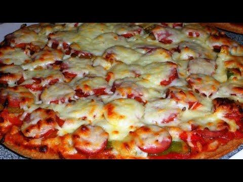 صورة  طريقة عمل البيتزا طريقه عمل البيتزا زي المحلات بل ظبط 😍😍 طريقة عمل البيتزا من يوتيوب