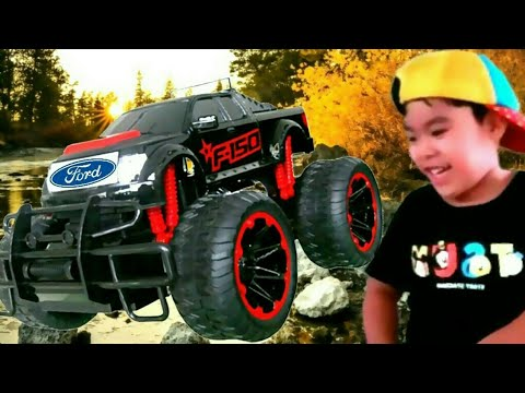 FORD F150 MONSTER TRUCK REMOTE CONTROL / FORD RC F150 / UNBOXING / Review - Ethan