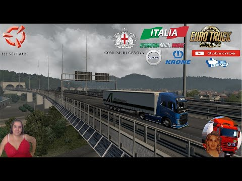 euro-truck-simulator-2-(1.37)-operation-genoa-bridge:-old-vs-new-bridge-polcevera-+-dlc's-&-mods