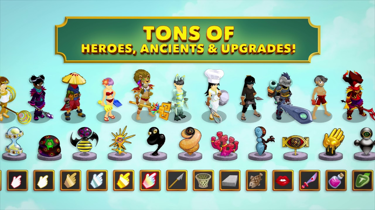 Clicker Heroes 2 6 6 APK Download - Android Role Playing Games