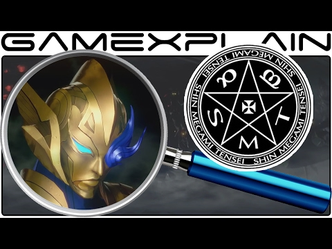 Shin Megami Tensei Switch ANALYSIS - Reveal Trailer (Secrets & Hidden Details)